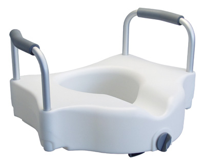 Wondrous Drive Medical Raised Toilet Seat With Removable Arms Pdpeps Interior Chair Design Pdpepsorg